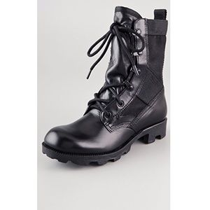 Theory Combat Boots 7.5